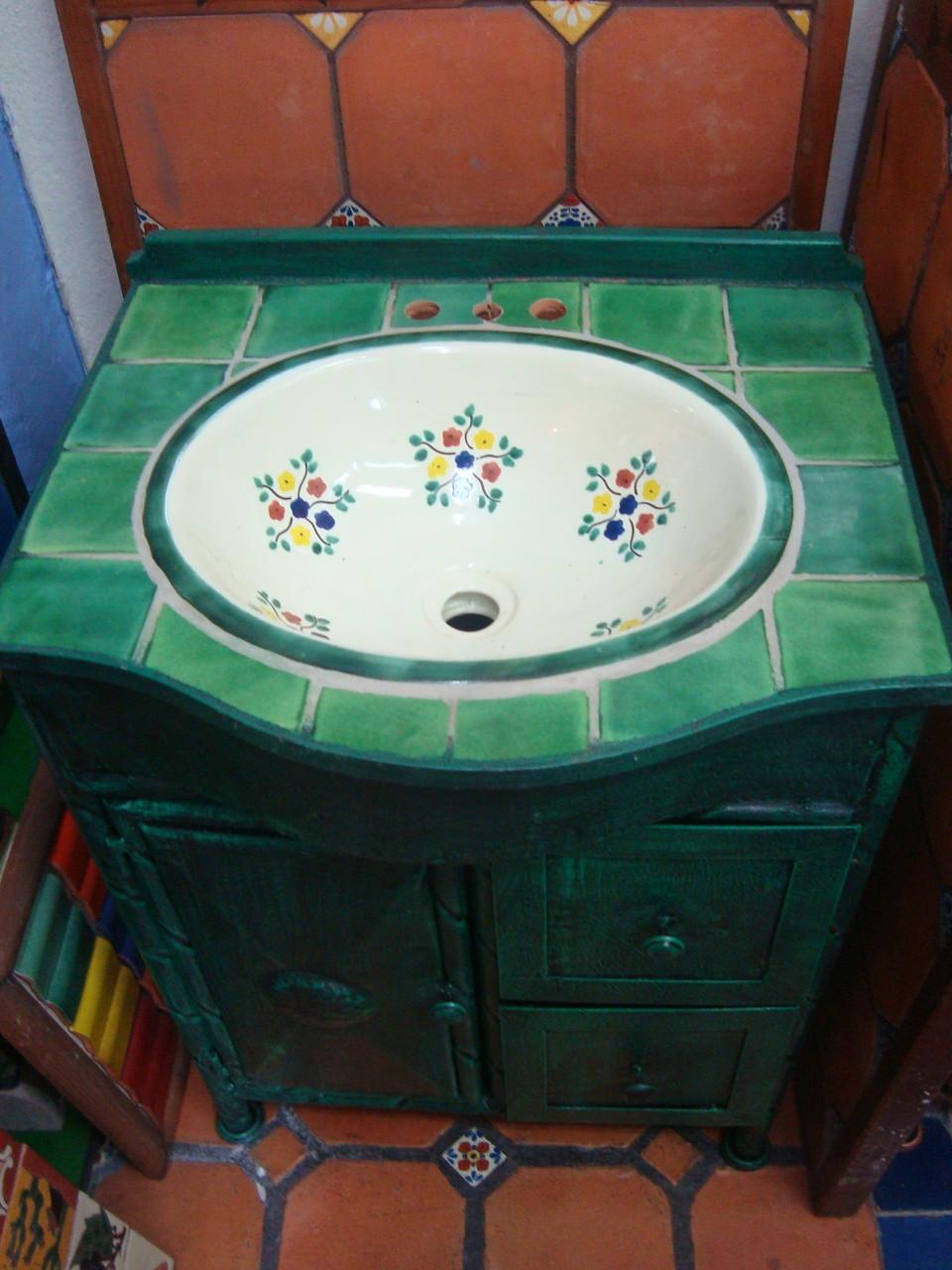 Muebles de Talavera para Baos  Rsticos Artesanales