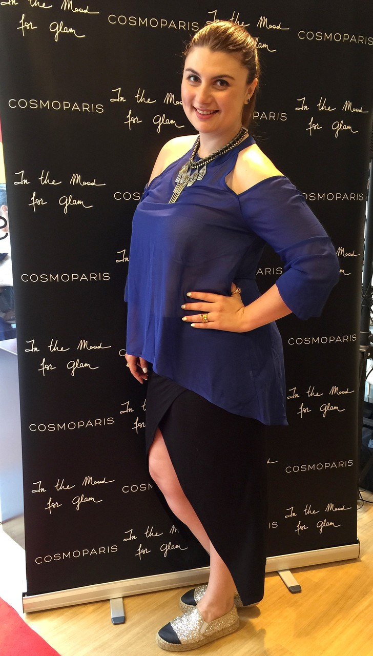 LOOK ASYMTRIQUE BOOHOO CHIC WITH CURVES Manon Edwards
