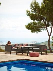 Flex Dining-lounge-sofa Von Cane-line - Rattan-center.ch