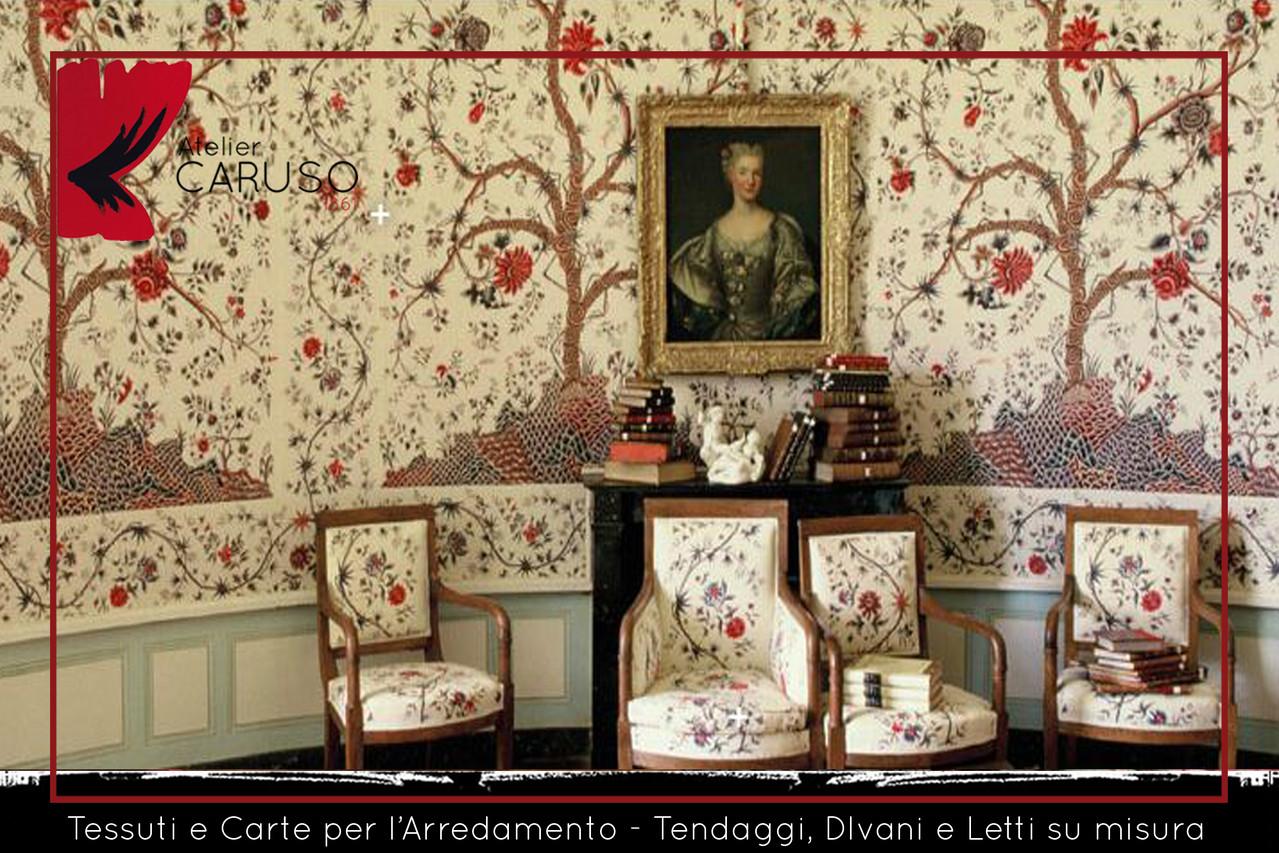 SELEZIONE DI TESSUTI PER DIVANI E POLTRONE  Atelier Caruso Tappezziere Torino