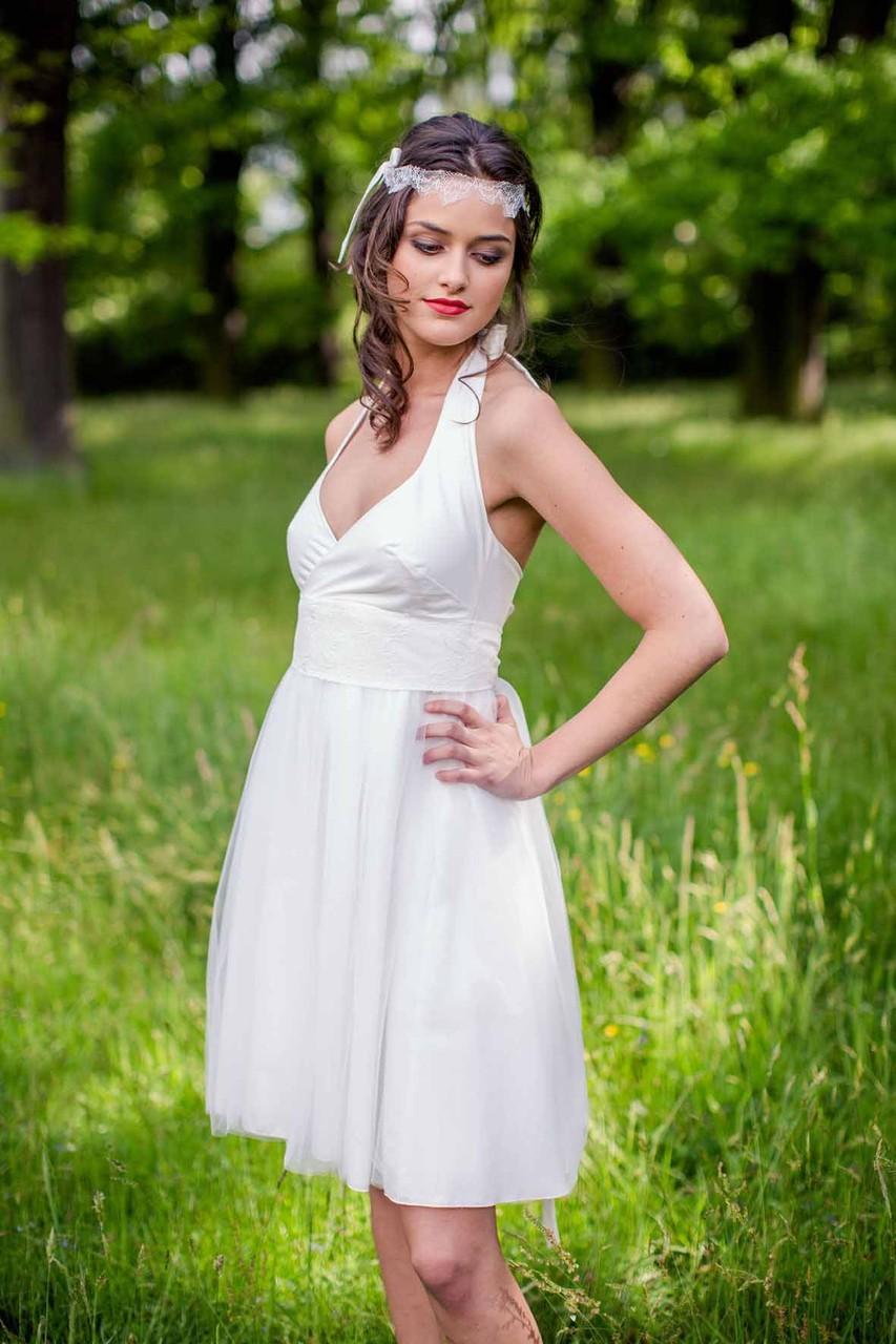 Hochzeitskleid schlicht  modern  schlichte Brautkleider