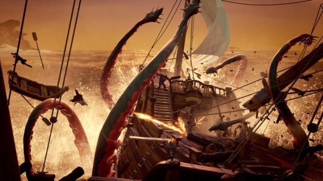 Image result for sea of thieves kraken