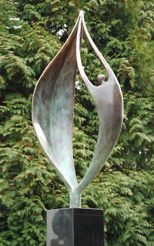 Moderne Gartenskulpturen Bronze  artesklassik Skulpturen