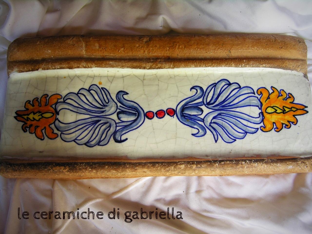 listelli in cotto e ceramica mattonelle maioliche