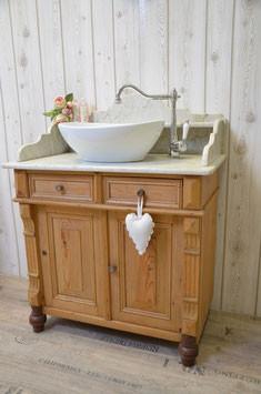 Antike Waschtische  funktionstchtig aufgearbeitet  Land  Liebe Badmbel Landhaus