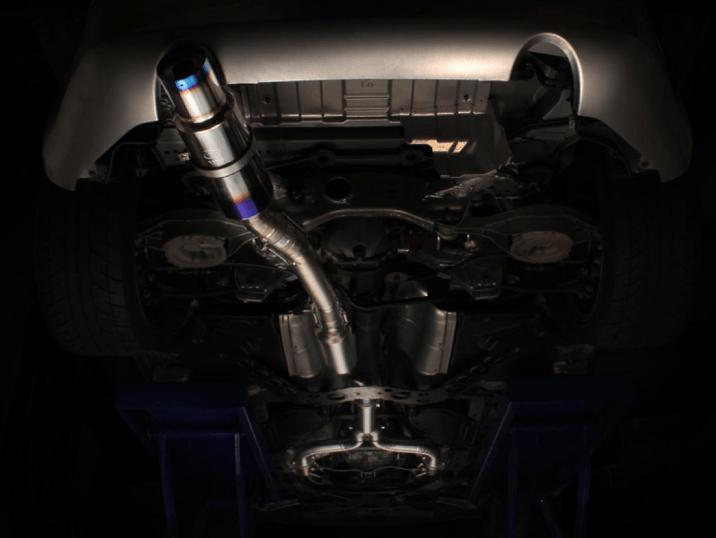 tomei expreme titanium exhaust 350z cat back