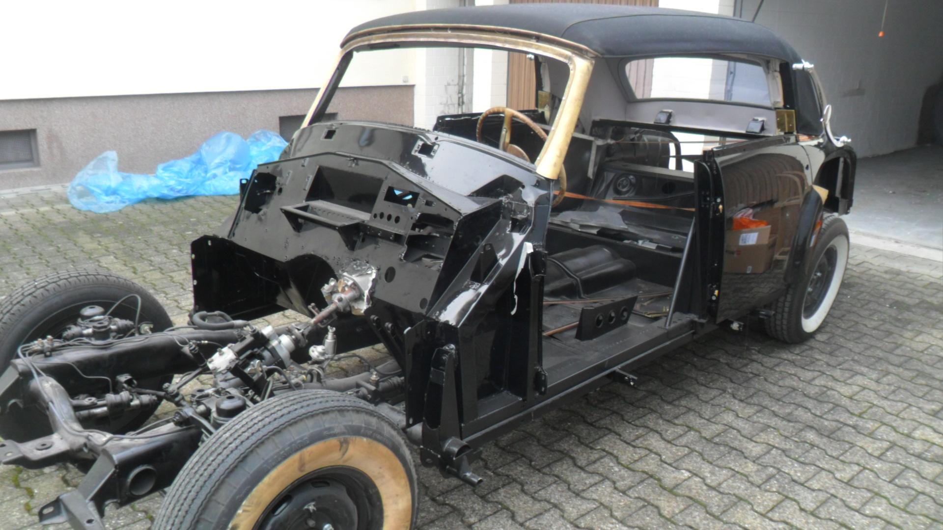 1962 MercedesBenz 300d Adenauer Convertible W189