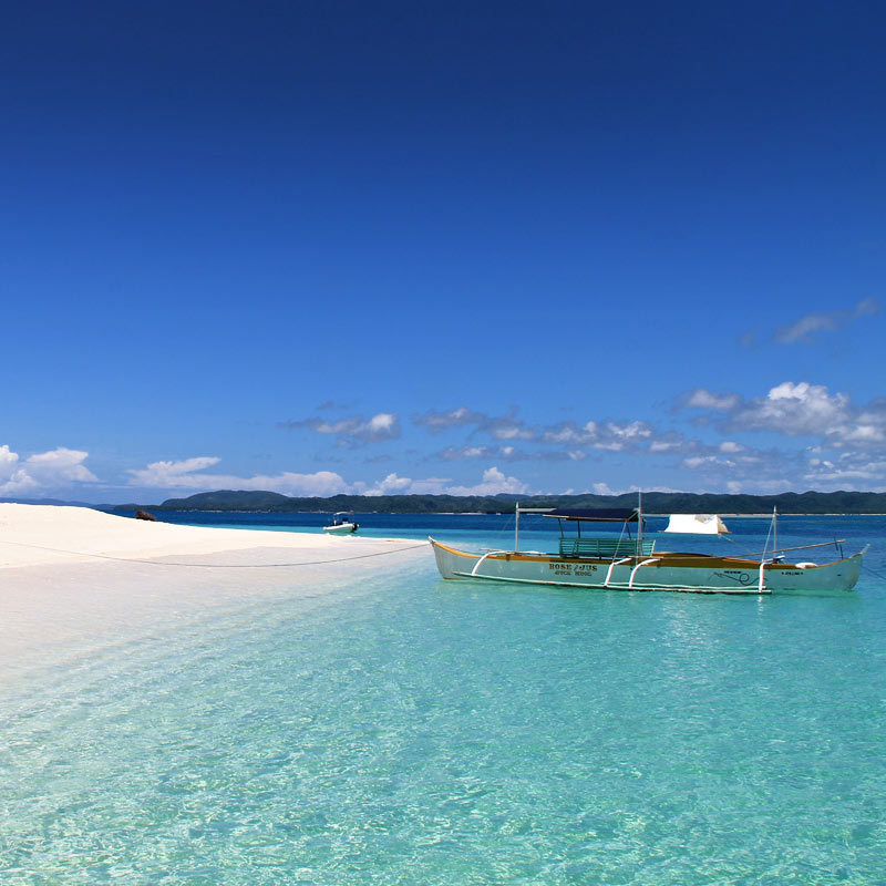 Naked Island in Siargao Philippines © Sabrina Iovino | via @Just1WayTicket