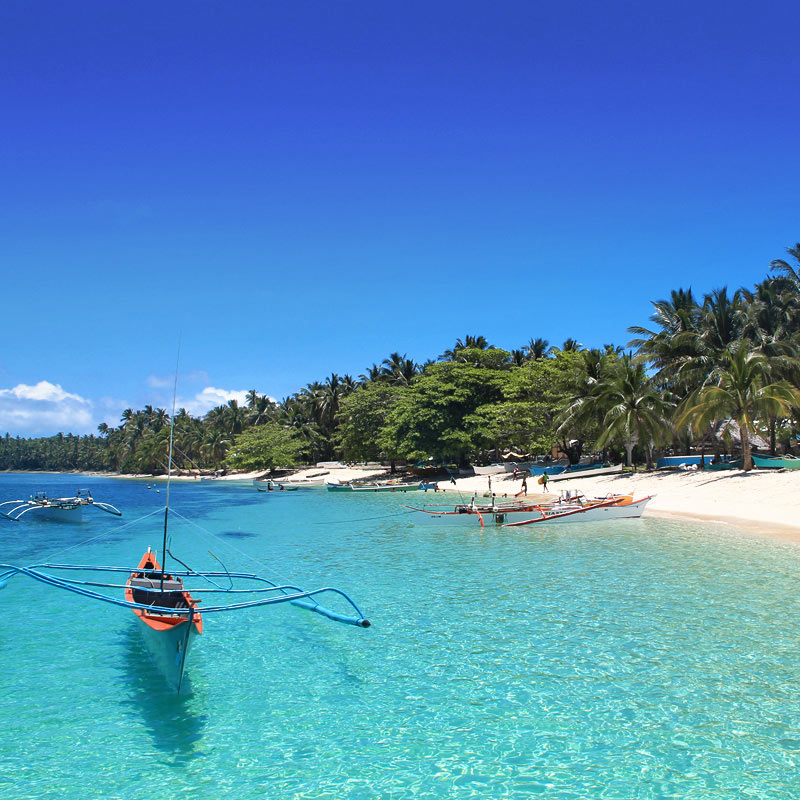Daku Island in Siargao Philippines © Sabrina Iovino | via @Just1WayTicket