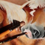 Horse Paintings Hufspuren