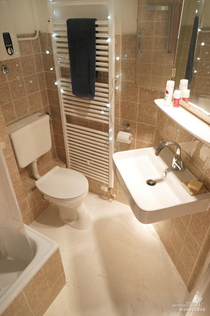 Badezimmer klein  fein renovieren  Wunderbar Zrich