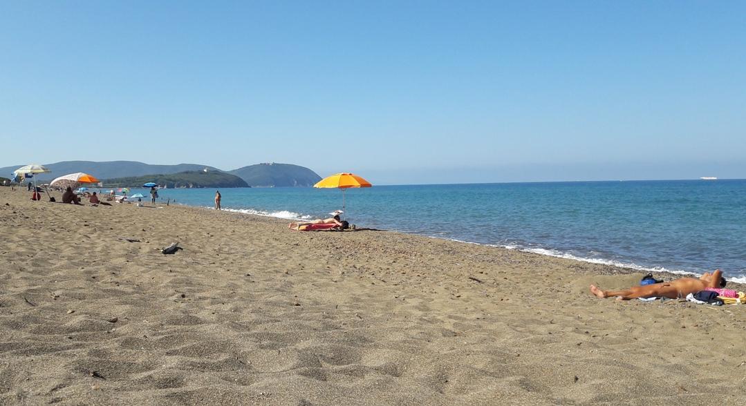 Spiaggia Nido dellAquila  San Vincenzo LI  saunaway italy