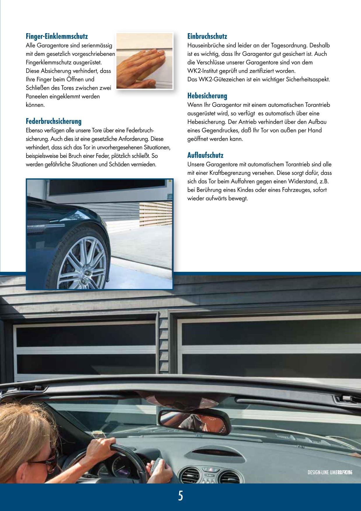 Garagentore - Rolltore Sektionaltore Garagentore Brandschutztore
