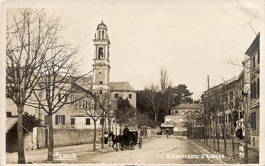 Albaro  GenovaOld Foto e Cartoline di Genova antica