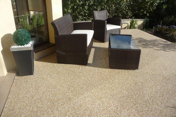 Natursteinteppich  Fliesen Parkett  Steinteppich