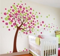 6 Cherry blossom tree - Leafy Dreams Nursery Decals ...