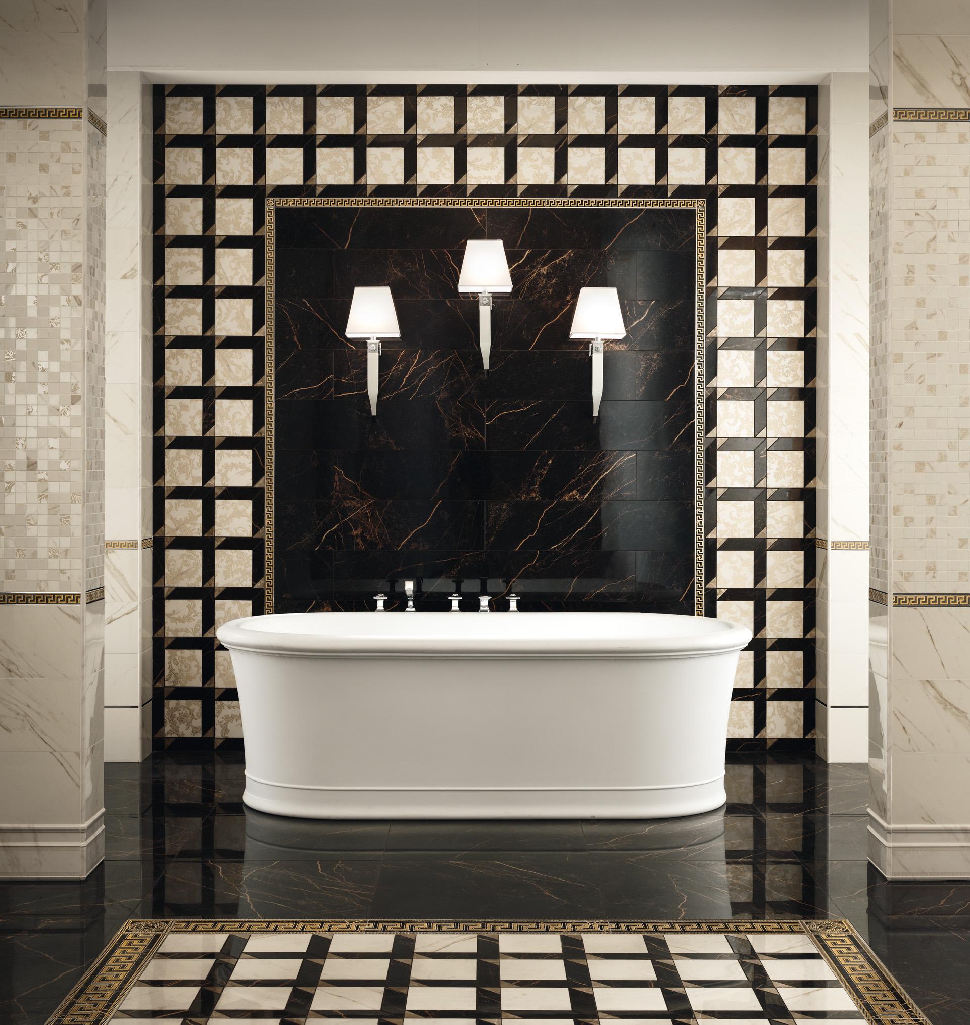 VERSACE SERIE MARBLE  Casaeco pavimenti e rivestimenti in ceramicarubinetterie per bagno