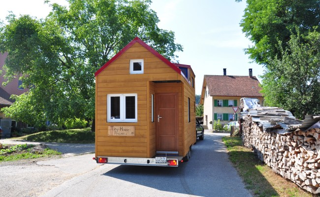 Links Tiny House Projekt Schweiz