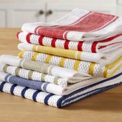 Kitchen Towels Modern White Gloss Cabinets For Rent Coastal Vacation Supplies