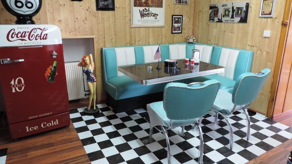 50 Jahre Möbel, Diner, Retromöbel - Hellwig 50's Retrolook