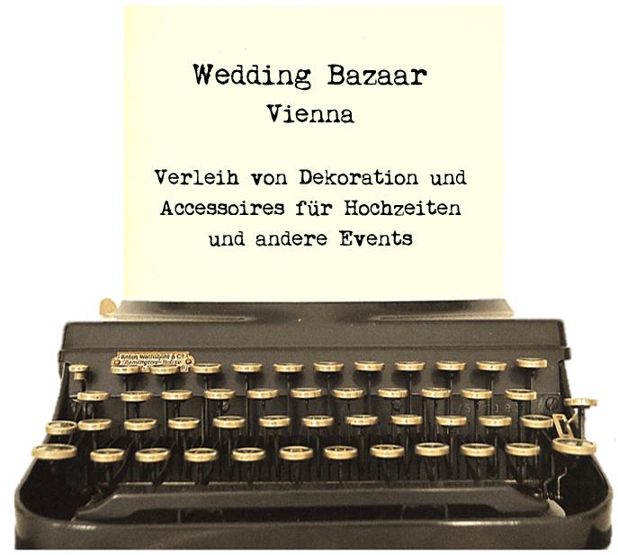 Hochzeitsdekoration Verleih Wien  Hochzeit