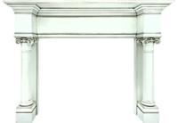 Houston Mantel - Custom Wood Fireplace Mantel Surrounds