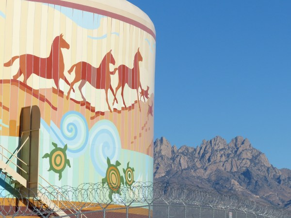 Las Cruces Water Tank Murals - Exploring Mexico