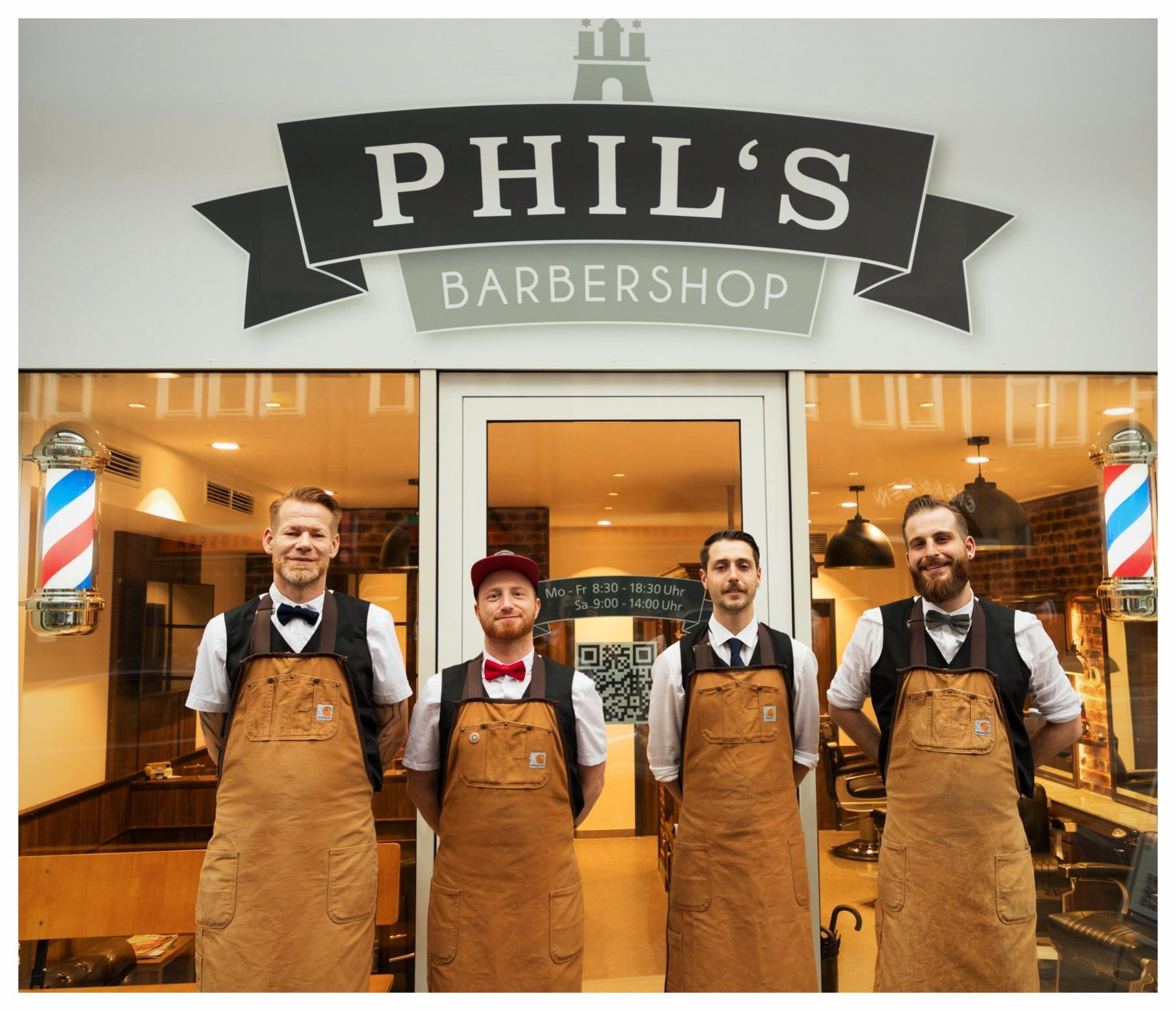 Phils Barbershop  Original Barbershop in Hamburg Der