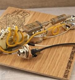 prewired harness 1953 65 dark circuit telecaster [ 1400 x 1050 Pixel ]