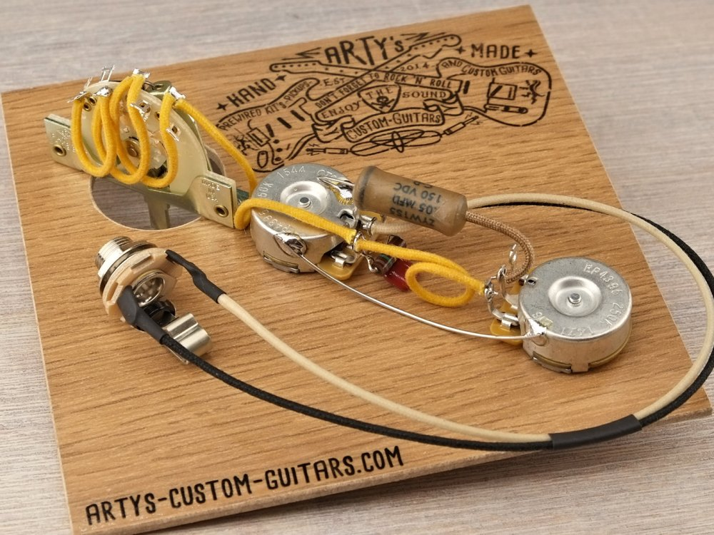 medium resolution of prewired harness 3 way telecaster