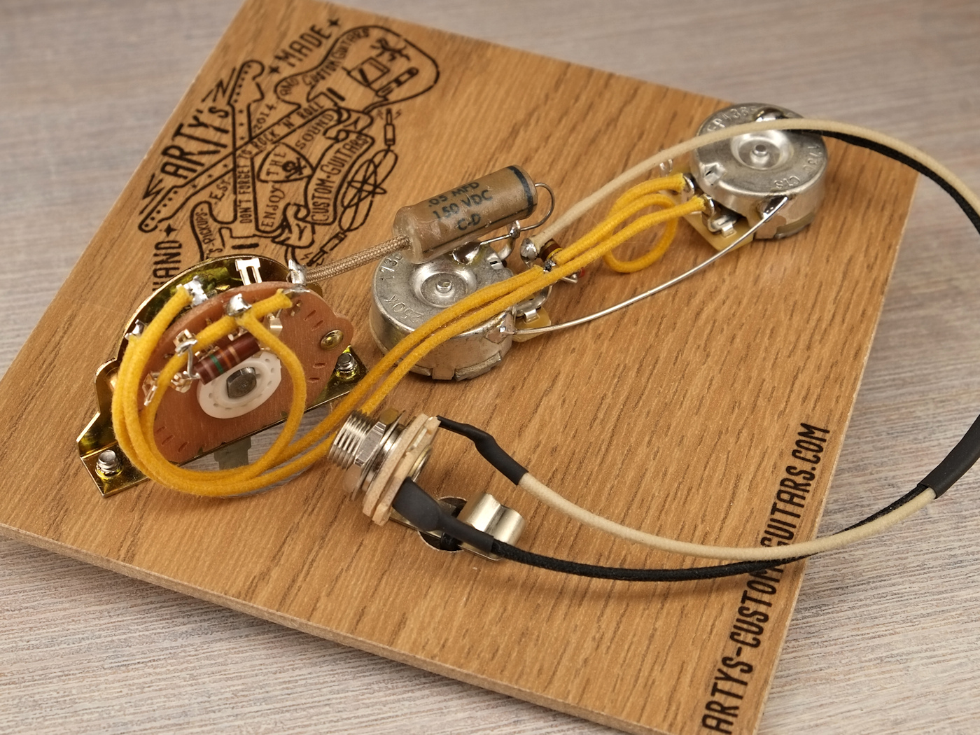 hight resolution of prewired harness broadcaster 1950 52 telecaster