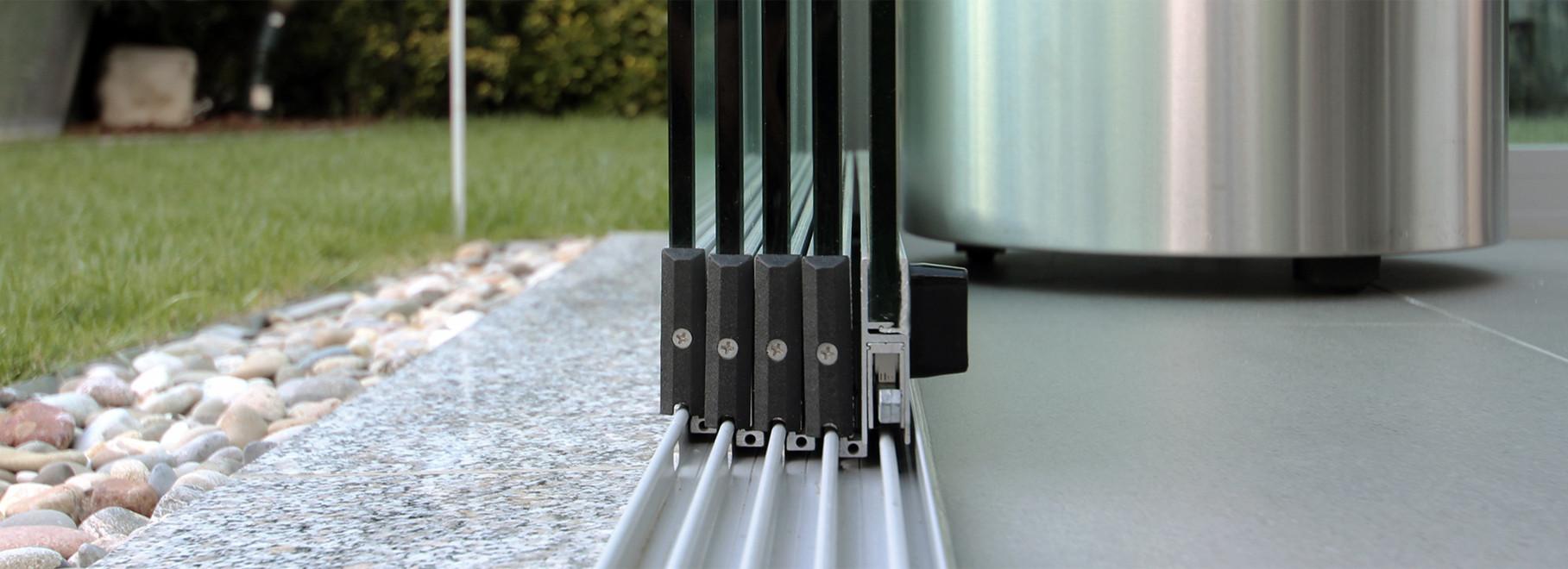 Glasschiebesysteme Für Terrassen Und Terrassendächer Und
