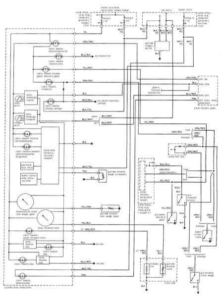 1998 Honda Accord Wiring Diagram : 1998 Honda Accord