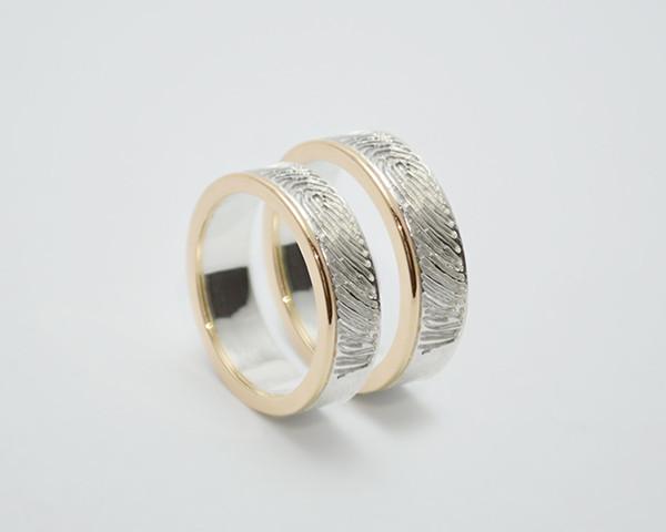Verlobungsringe Fingerabdruck  wwwsolo1unikatschmuckde