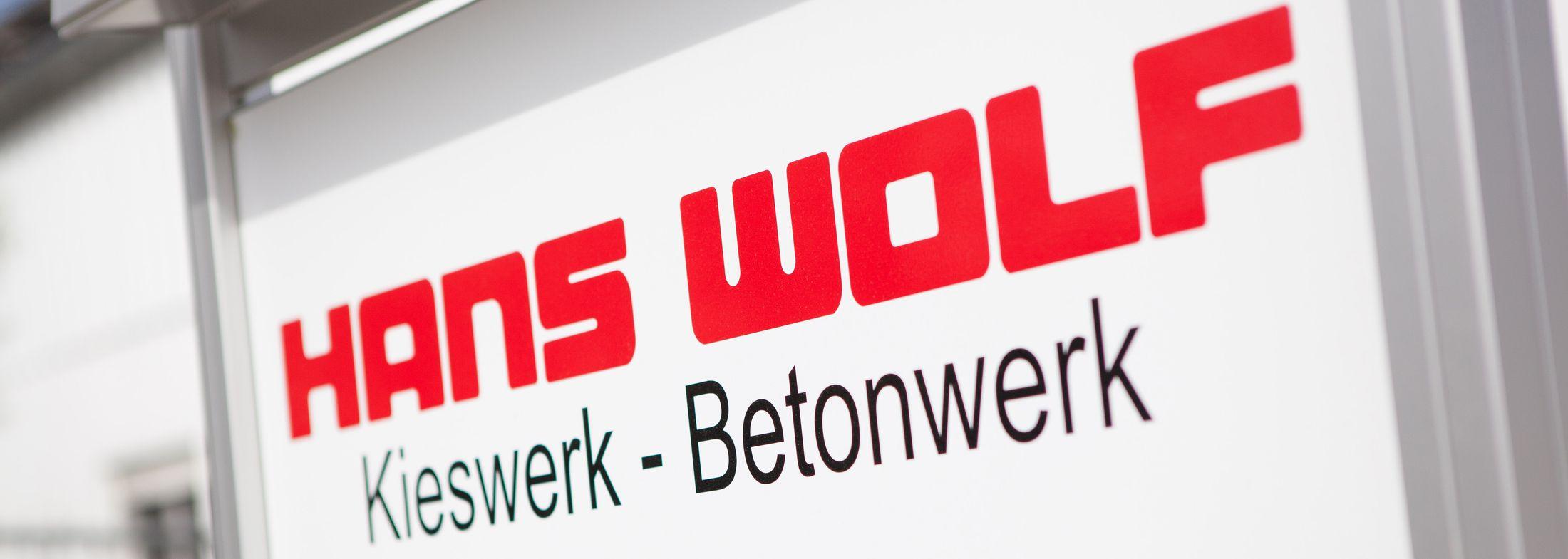 Home - Hans Wolf Gmbh & Co. Kg Kieswerk, Betonwerk, Erdarbeiten