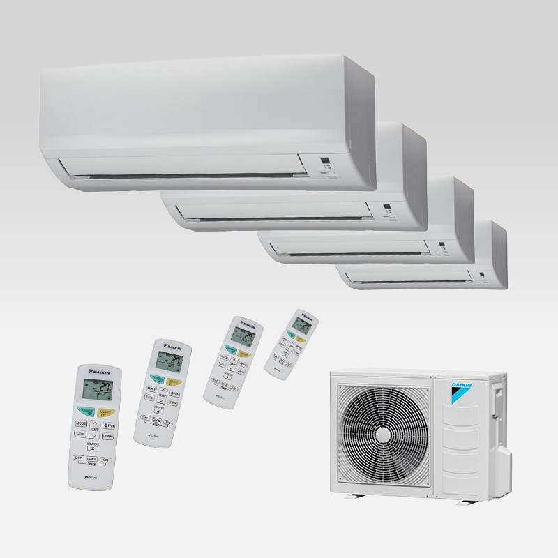 DAIKIN Multicombinaties  airconditioning  koudetechniek