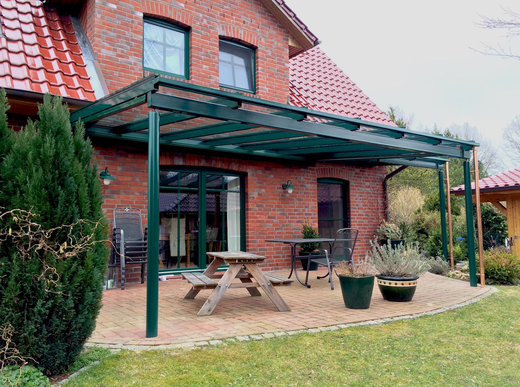 Ams Metallbau Buxtehude - Terrassendächer - Ams Metallbau