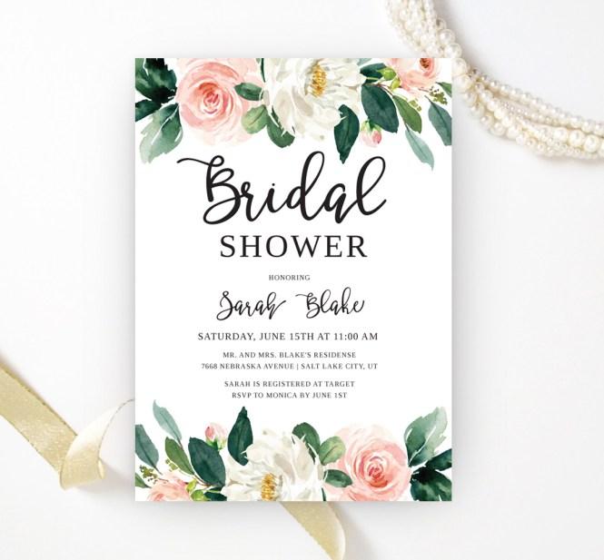 Fl Bridal Shower Invitations