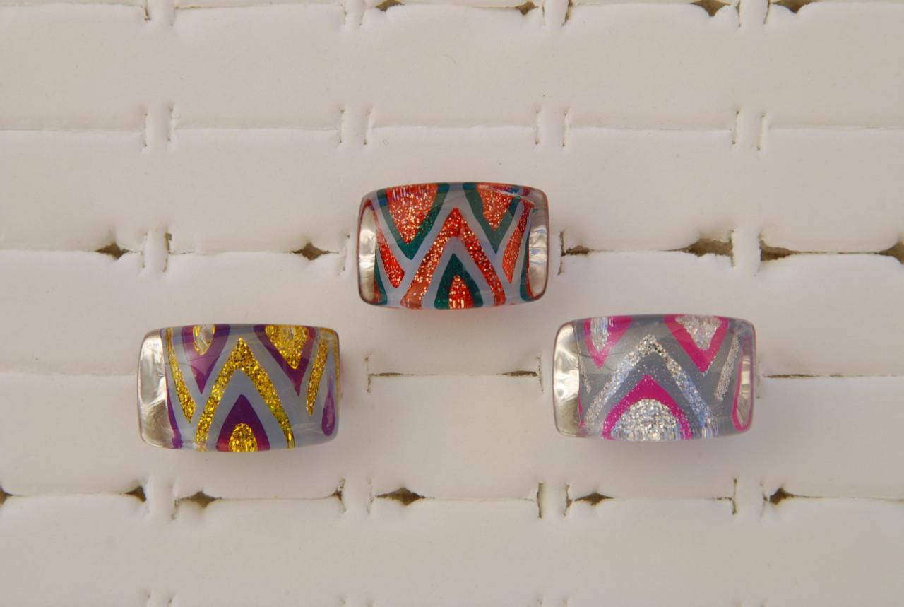 Ringe aus Kunststoff  GaviotaArte Modeschmuck  Kunst