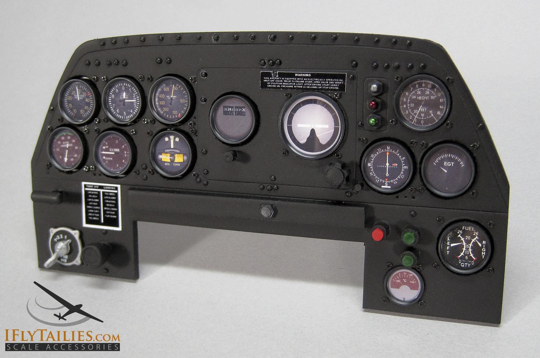 hight resolution of tbm avenger instrument panel