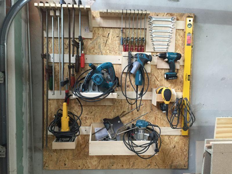 Ordnung in der Werkstatt  Heimwerker  tutorial zum Thema DIY