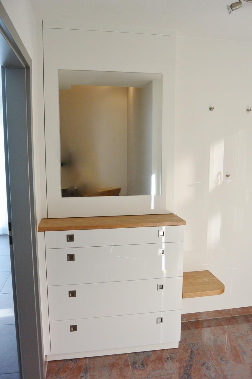 Garderobe mit Schuhschrank  Schreinerei  Holzdesign Rapp