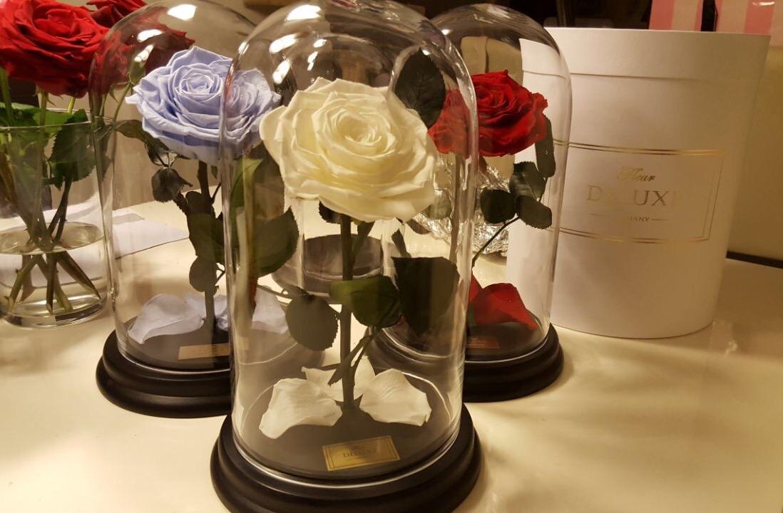 Auergewhnliche Geschenke Rosen  Blumenbox Rosenbox