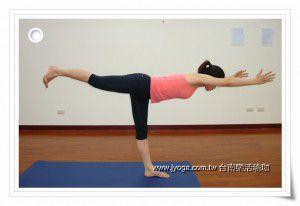 瑜珈教學47-腿部雕塑-英雄式三 | JYOGA樂活瑜珈-臺南瑜珈教學