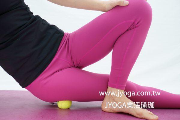 瑜珈教學135-滾筒放鬆肌筋膜-梨狀肌   臺南瑜珈-JYOGA樂活瑜珈