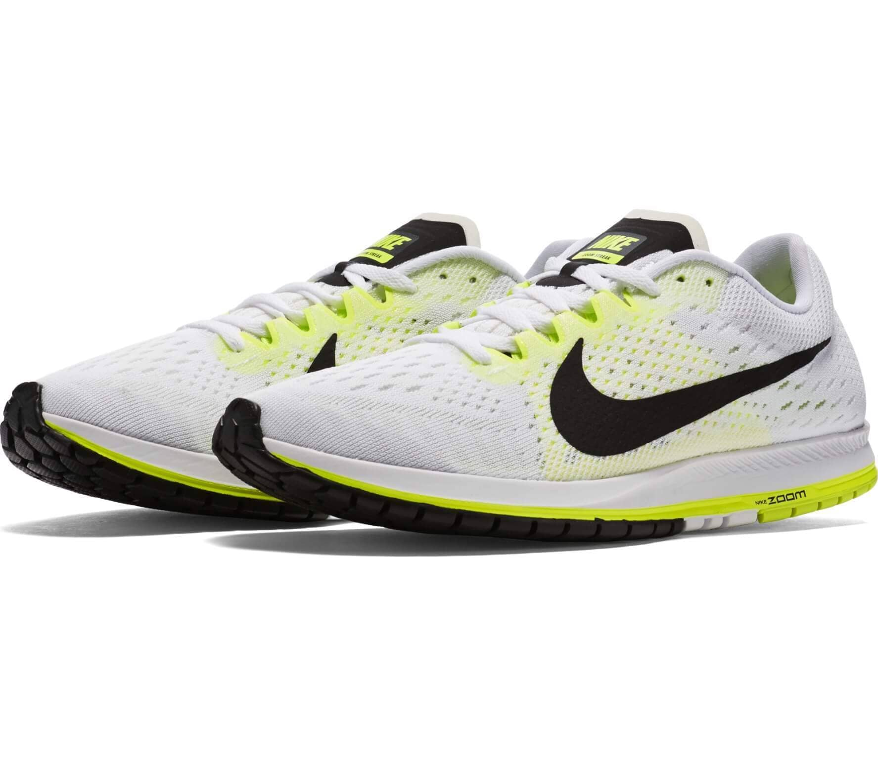 the best attitude eac6a e4b4a Nike Air Zoom Streak 6 Unisex Running Shoes White Yellow