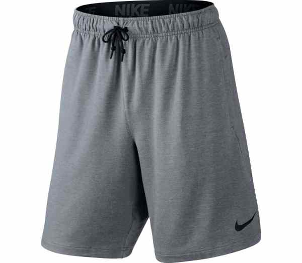 Nike - Dri-fit Fleece 8 Men' Training Shorts Grey