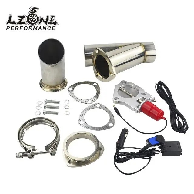 electric stainless steel exhaust cut