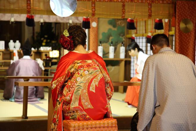 【日式神社婚禮】最正統日本神前結婚式(情侶雙人平日價)