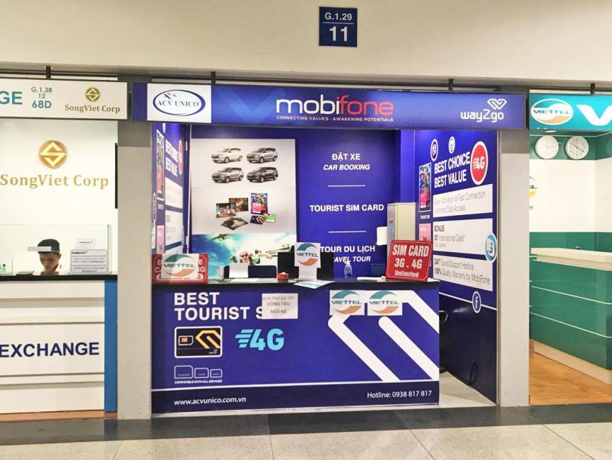 【越南上網 SIM 卡】Vietnamobile 30 天上網電話卡(新山一機場取件) - KKday